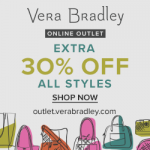 Mommy Deals: First Time Ever Vera Bradley Online Outlet Sale